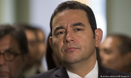 Präsident Jimmy Morales (Foto: picture-alliance/AP Images/L. Soto)