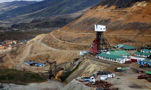 Adveniat Lateinamerika Peru Mine Bergbau