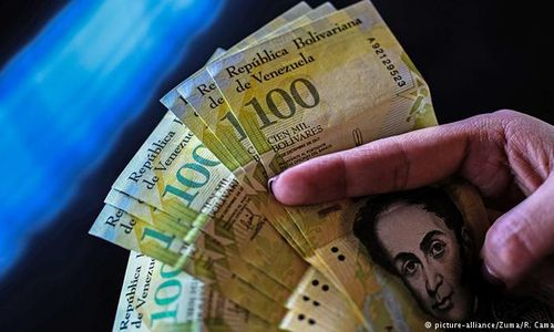 Absurde Hyperinflation in Venezuela. Foto: picture-alliance/Zuma/R. Camacho